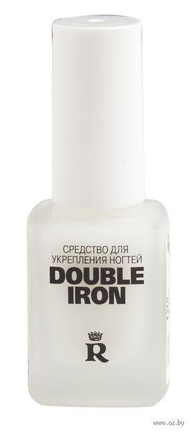 """Средство для укрепления ногтей """"Double Iron"""" тон: прозрачный — фото, картинка"""