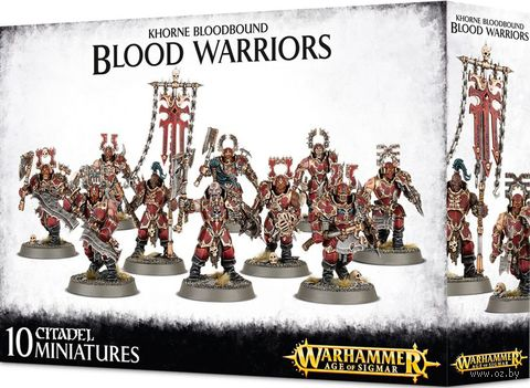 Warhammer Age of Sigmar. Blades of Khorne. Blood Warriors (83-24) — фото, картинка