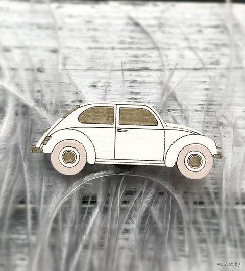 """Брошь """"Машинка"""" (арт. 25-2) — фото, картинка"""