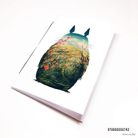 """Блокнот """"Тоторо"""" (А7; арт. 742) — фото, картинка"""