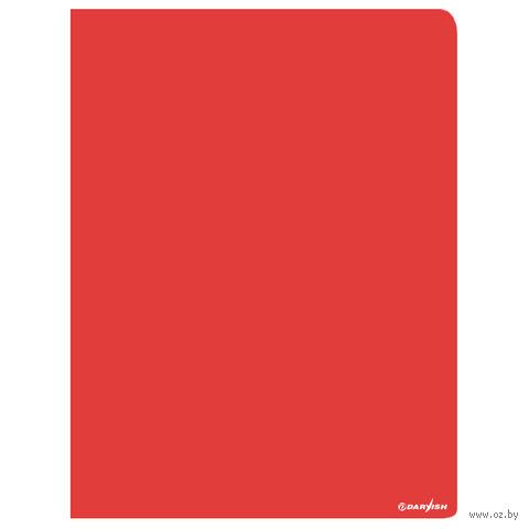 """Папка """"Darvish"""" с пружинным скоросшивателем DV-07S (А4; цвет: красный)"""