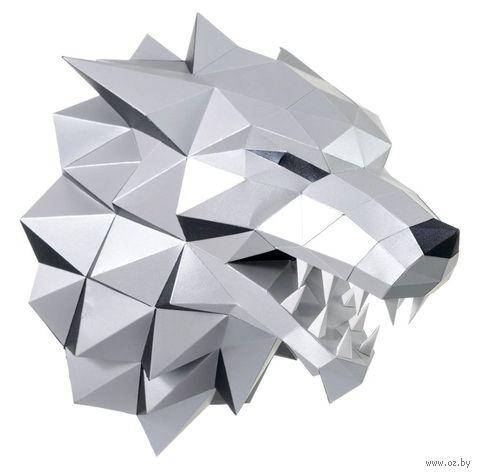 """3D-конструктор """"Лютоволк"""" (серый) — фото, картинка"""