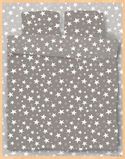"""Постельное белье """"Stars Grey"""" (полуторное) — фото, картинка"""