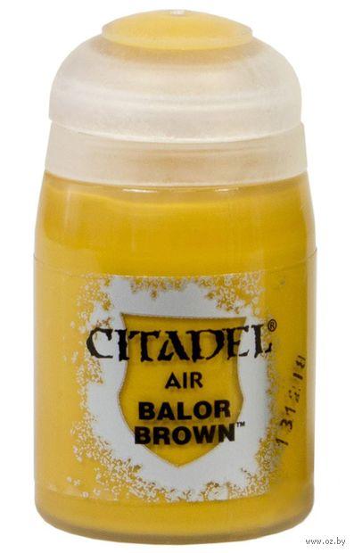 "Краска для аэрографа ""Citadel Air"" (balor brown; 24 мл) — фото, картинка"