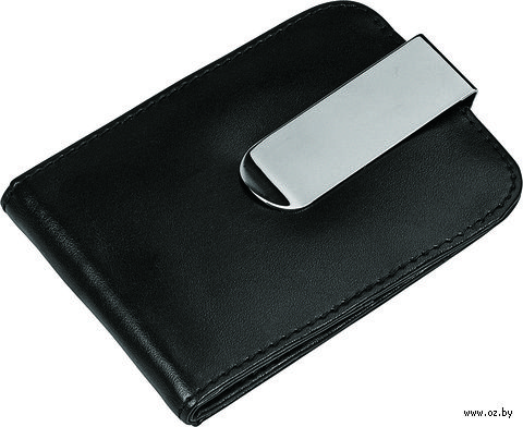 Визитница с зажимом для денег и отделениями для хранения карт памяти и SIM карт — фото, картинка