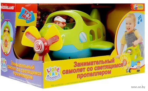 """Музыкальная игрушка """"Самолет"""" (со световыми эффектами) — фото, картинка"""