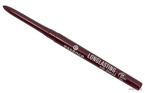 """Карандаш для глаз """"Longlasting Eye Pencil"""" (тон: 29, бордовый) — фото, картинка"""