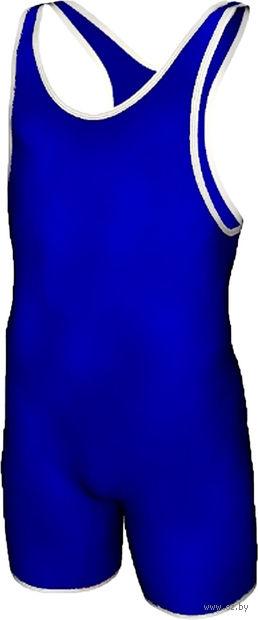 Трико борцовское MA-401 (р. 38; синее) — фото, картинка