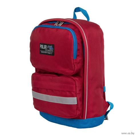 Рюкзак П2303 (красно-васильковый) — фото, картинка