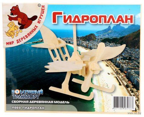 """Сборная деревянная модель """"Гидроплан"""" — фото, картинка"""