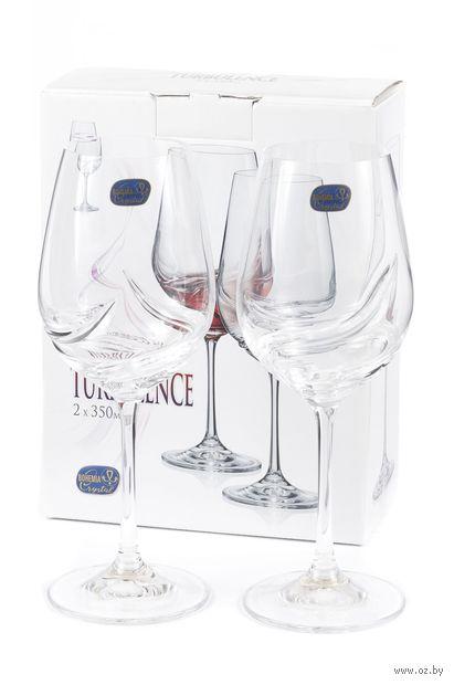 """Бокал для вина стеклянный """"Turbulence"""" (2 шт.; 350 мл) — фото, картинка"""