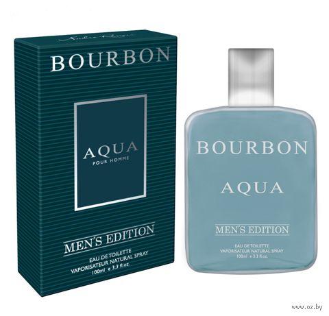 """Туалетная вода для мужчин """"Bourbon Aqua"""" (100 мл) — фото, картинка"""