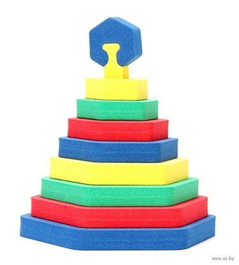 "Пирамидка ""Шестиугольник"" — фото, картинка"