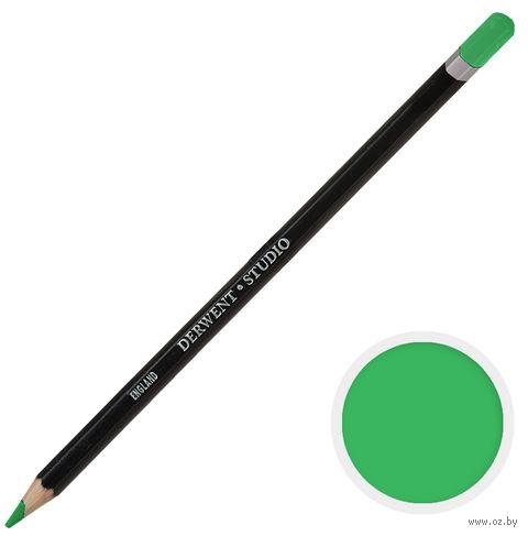 Карандаш цветной Studio 46 (зеленый изумрудный)