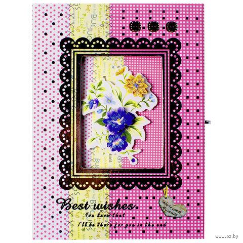 """Блокнот с замком """"Darvish"""" (А6; арт. DV-5936) — фото, картинка"""