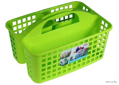 Органайзер для моющих средств (310х230х185 мм; салатовый) — фото, картинка