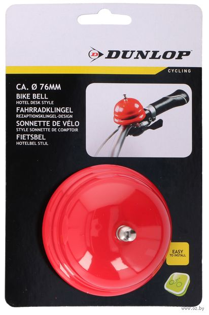 Звонок для велосипеда металлический (77 мм; арт. 871125203101) — фото, картинка
