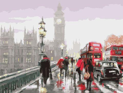 "Картина по номерам ""В дождливом Лондоне"" (400х500 мм) — фото, картинка"