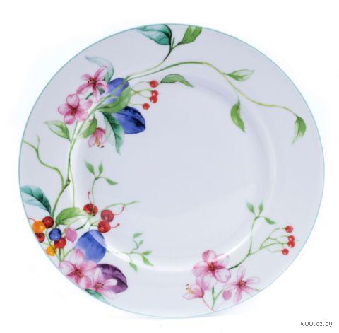 "Тарелка фарфоровая ""Floral Cascade"" (267 мм) — фото, картинка"