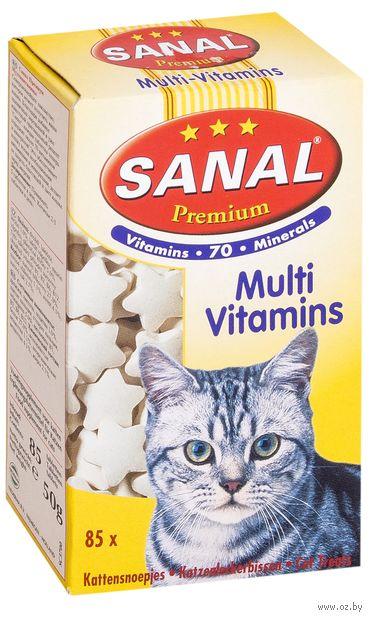 """Витамины для кошек """"Sanal. Премиум"""" (85 шт.)"""