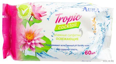 "Влажные салфетки ""Tropic Cocktail"" (60 шт.) — фото, картинка"