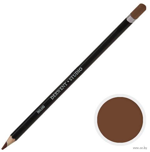 Карандаш цветной Studio 55 (коричневый вандэйк)