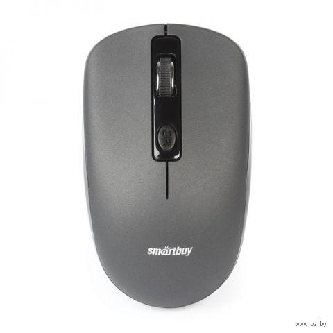 Мышь беспроводная Smartbuy ONE 345AG (серая) — фото, картинка