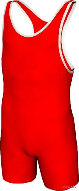 Трико борцовское MA-401 (р. 48; красное) — фото, картинка