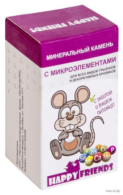 Камень минеральный для грызунов и кроликов (25 г; с микроэлементами) — фото, картинка