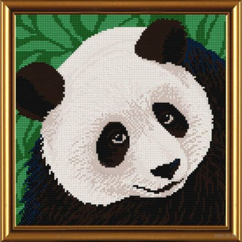 "Вышивка бисером ""Панда"" (260х260 мм) — фото, картинка"