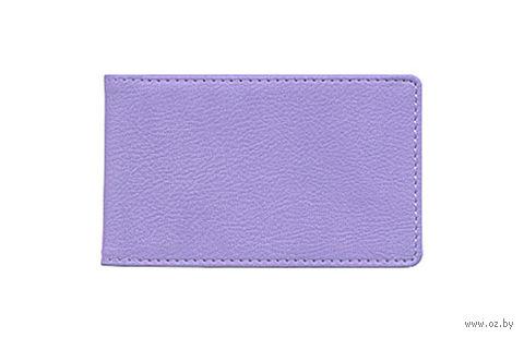 """Футляр для кредитных карт Time/System """"Aston"""" (violet)"""
