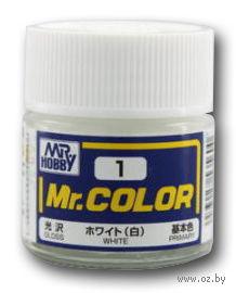 Краска Mr. Color (white, C1)