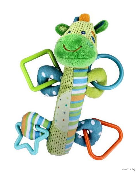 """Мягкая игрушка-пищалка """"Зебра"""" — фото, картинка"""