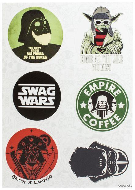 "Набор виниловых наклеек №76 ""Star Wars"" — фото, картинка"