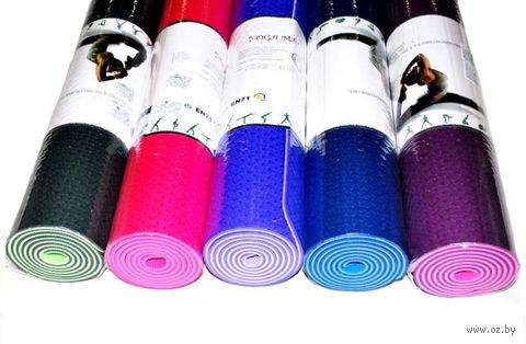 Коврик для йоги (175х61х0,5 см; арт. TPE) — фото, картинка