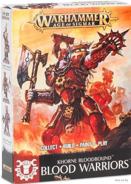 Warhammer Age of Sigmar. Blades of Khorne. Blood Warriors. Easy to Build (71-03) — фото, картинка