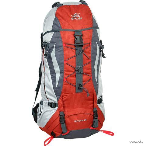 """Рюкзак """"Oxygen 65"""" (65 л; красный) — фото, картинка"""