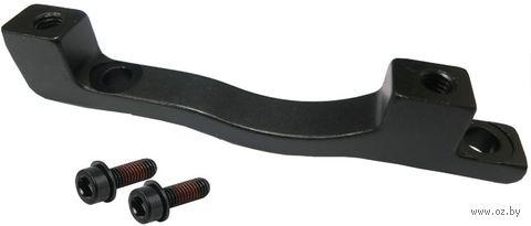 "Адаптер переднего дискового тормоза ""Post/Post"" (203 мм; черный) — фото, картинка"