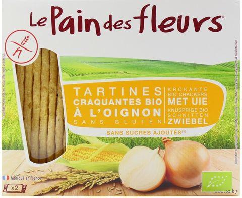 "Хлебцы кукурузные ""Le Pain des Fleurs. С луком"" (150 г) — фото, картинка"