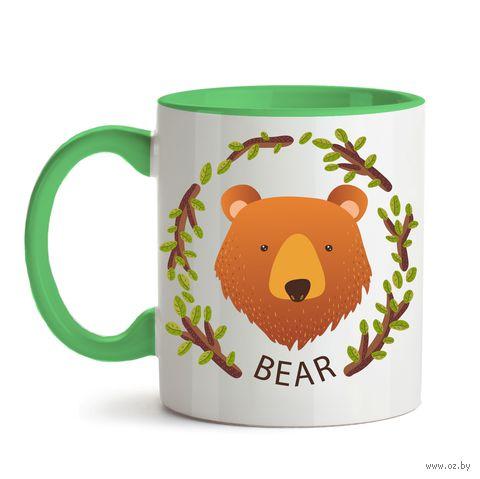 """Кружка """"Медведь"""" (350)"""