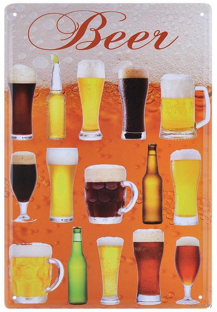 """Постер """"Пиво"""" (арт. 37432) — фото, картинка"""