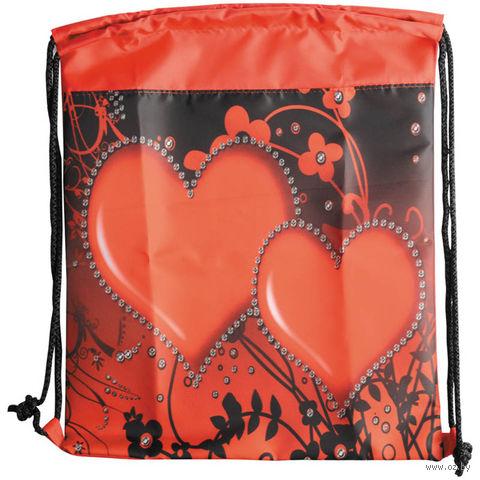 "Рюкзак-мешок ""Сердца"" — фото, картинка"