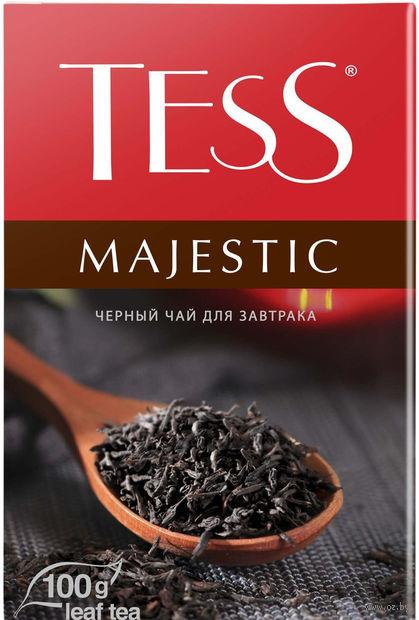 """Чай черный листовой """"Tess. Majestic"""" (100 г) — фото, картинка"""