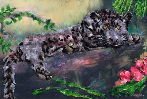 "Вышивка бисером ""Пантера"" (370х250 мм) — фото, картинка"