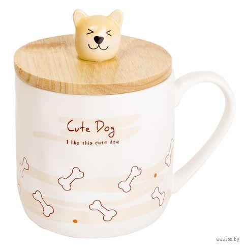 """Кружка """"My cute dog"""" — фото, картинка"""