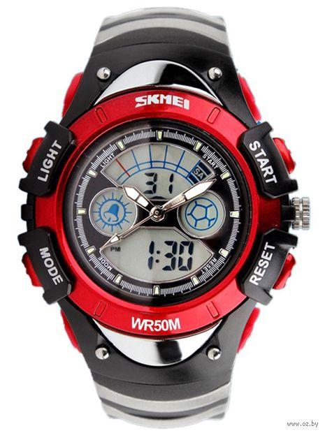 Часы наручные (красные; арт. 0998) — фото, картинка