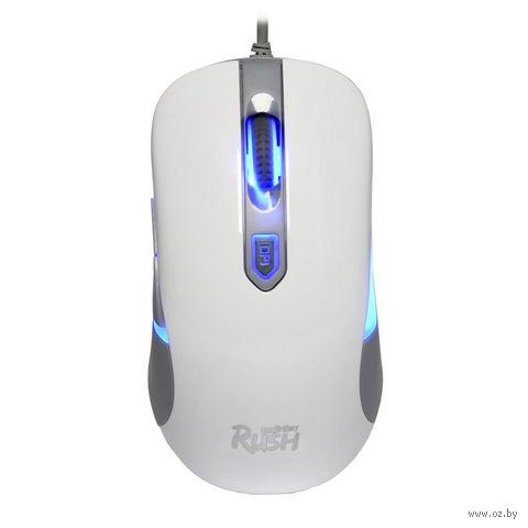 Мышь с подсветкой Smartbuy Rush 711 (белая) — фото, картинка