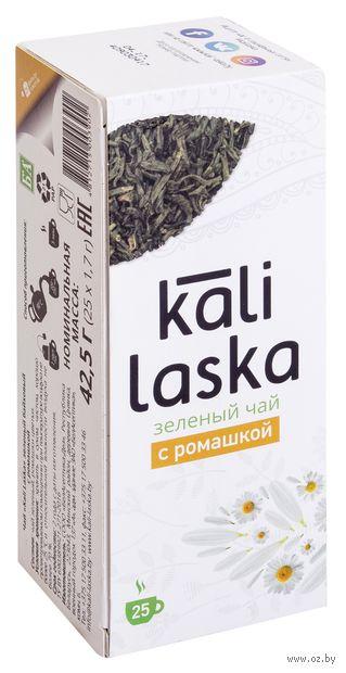 """Чай зеленый """"Kali Laska. С ромашкой"""" (25 пакетиков) — фото, картинка"""
