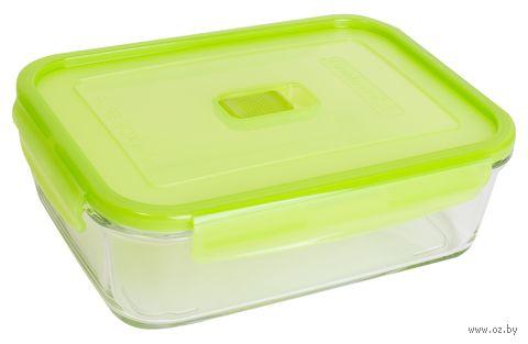 Контейнер для еды (1,97 л; зеленый) — фото, картинка