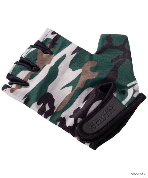 Перчатки для фитнеса SU-126 (S; хаки) — фото, картинка